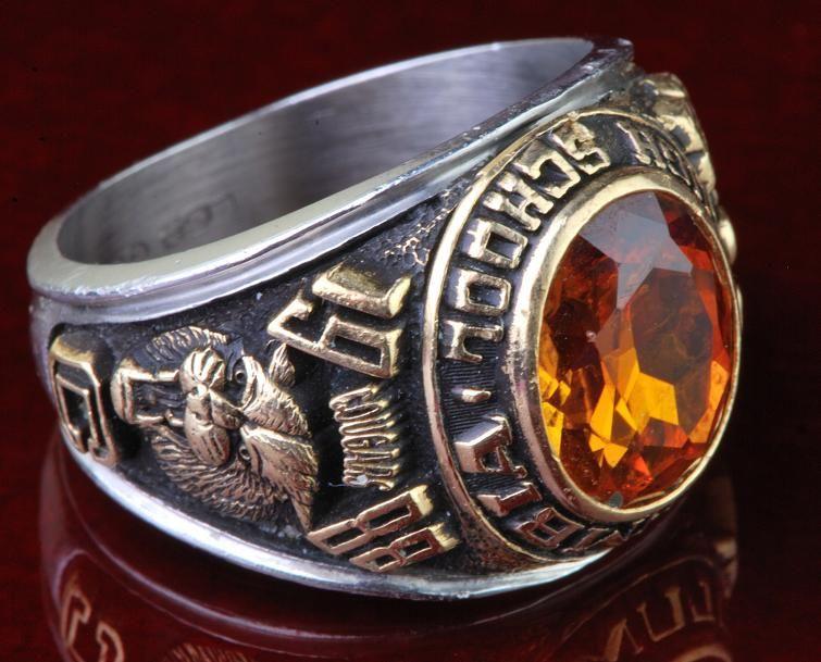 Columbia High School Class Ring 1979-1988 Mens Ring | Men ...