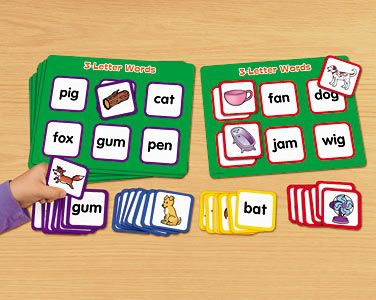 Picture word match 3 letter words lakeshore learning learning picture word match 3 letter words at lakeshore learning modify for functional words expocarfo