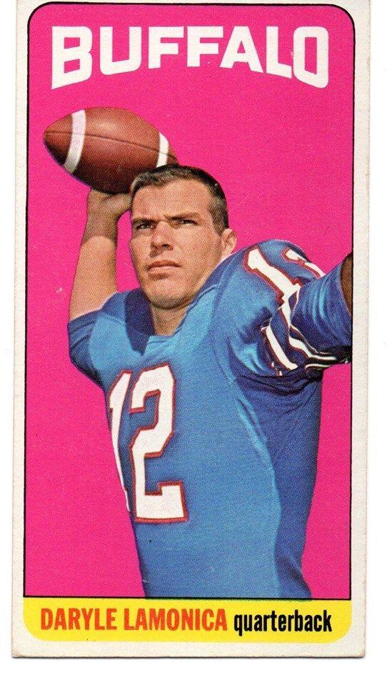 1965 Topps Daryle Lamonica Card # 36 Vintage Tall Boy Buffalo Bills Notre Dame http://clektr.com/bl2z