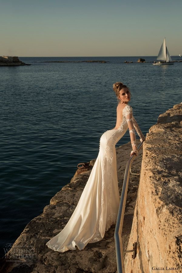 Galia Lahav Spring 2015 Wedding Dresses — La Dolce Vita Bridal Collection  Part 2  647f00a3cb5e