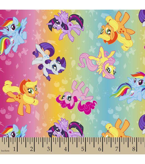 My Little Pony Ombre Toss Polyspan Fabrix