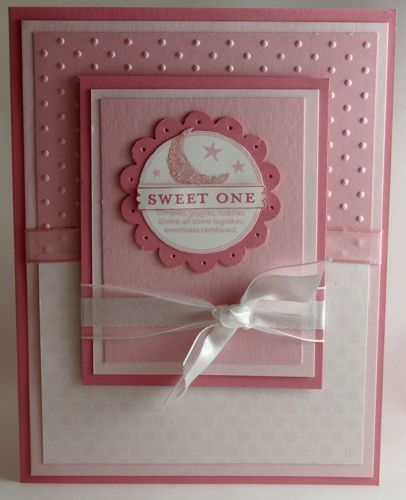 Baby Girl card by Stamp Addict 77 - Cards and Paper Crafts at