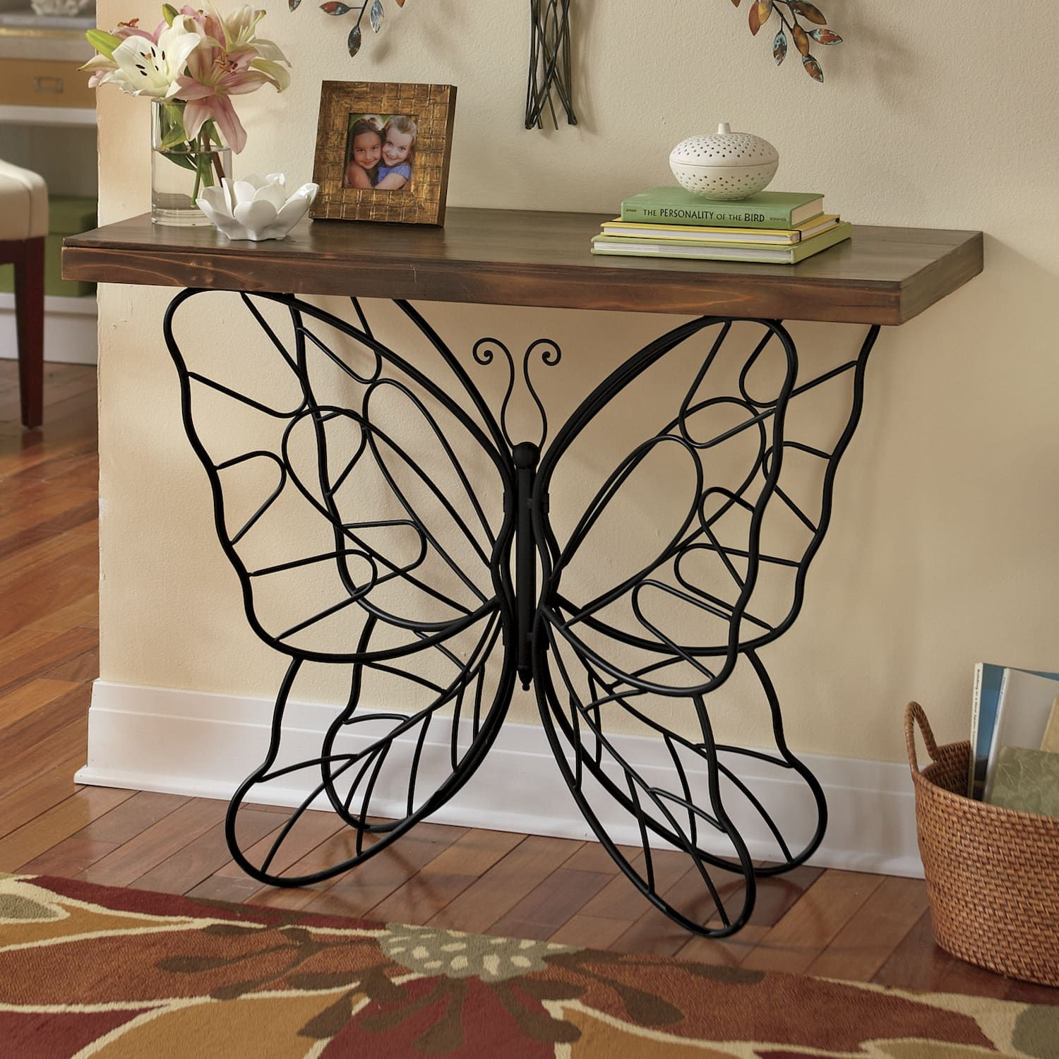 Butterfly Console Table Country Door I Love This Table Now Where To Put You Decor Butterfly Table Home Decor