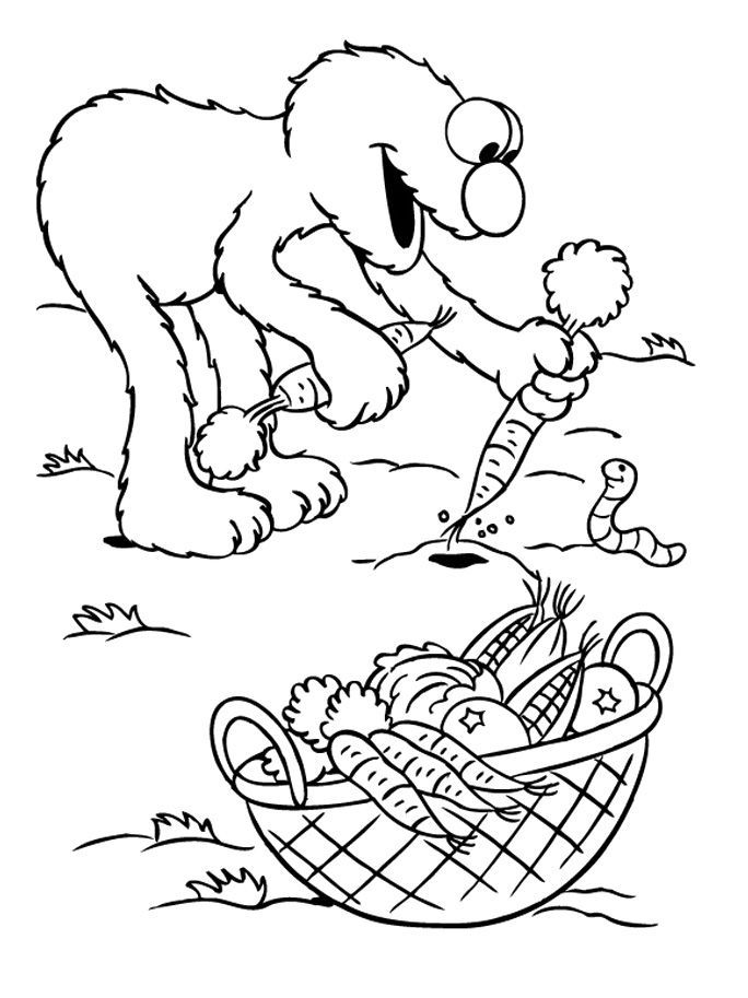 Elmo Coloring Pages #1783 | Pics to Color | Coloring | Pinterest | Elmo