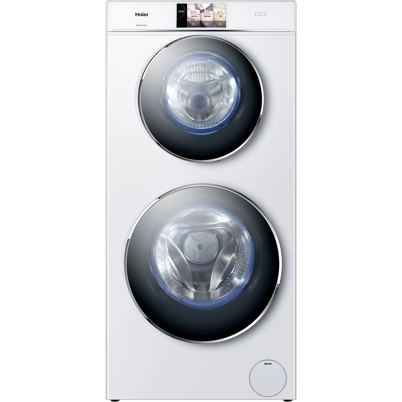 Haier Duo Hwd120 B1558u 12kg 4kg Washer Dryer With 1500 Rpm White A Rated Washer And Dryer Haier Washing Machine Haier Washer