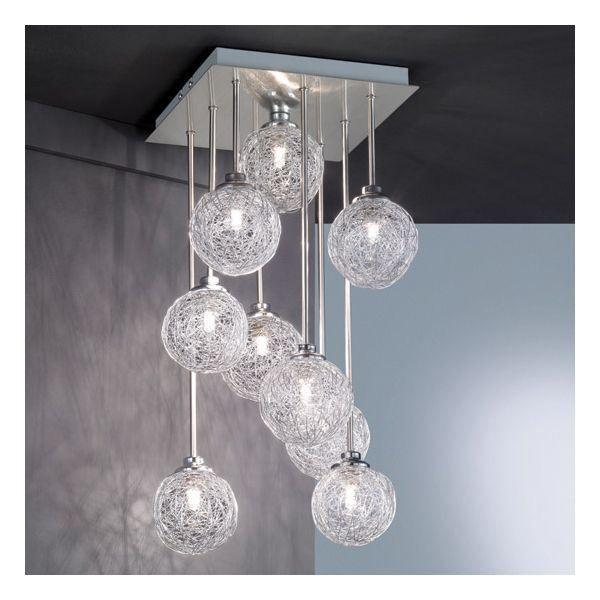 17 Piece Preferee Lustre 3 Boules Photograph Ceiling Lights Home Decor Chandelier