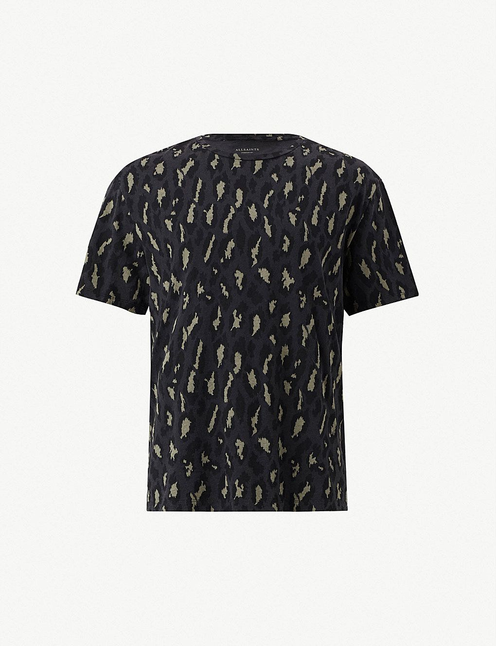 fa0af3951f302c ALLSAINTS Catamount cotton-jersey T-shirt in 2019