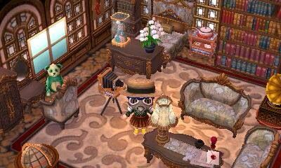 ACNL Room Idea   House ideas, House, Bilder on Animal Crossing Living Room Ideas  id=44893