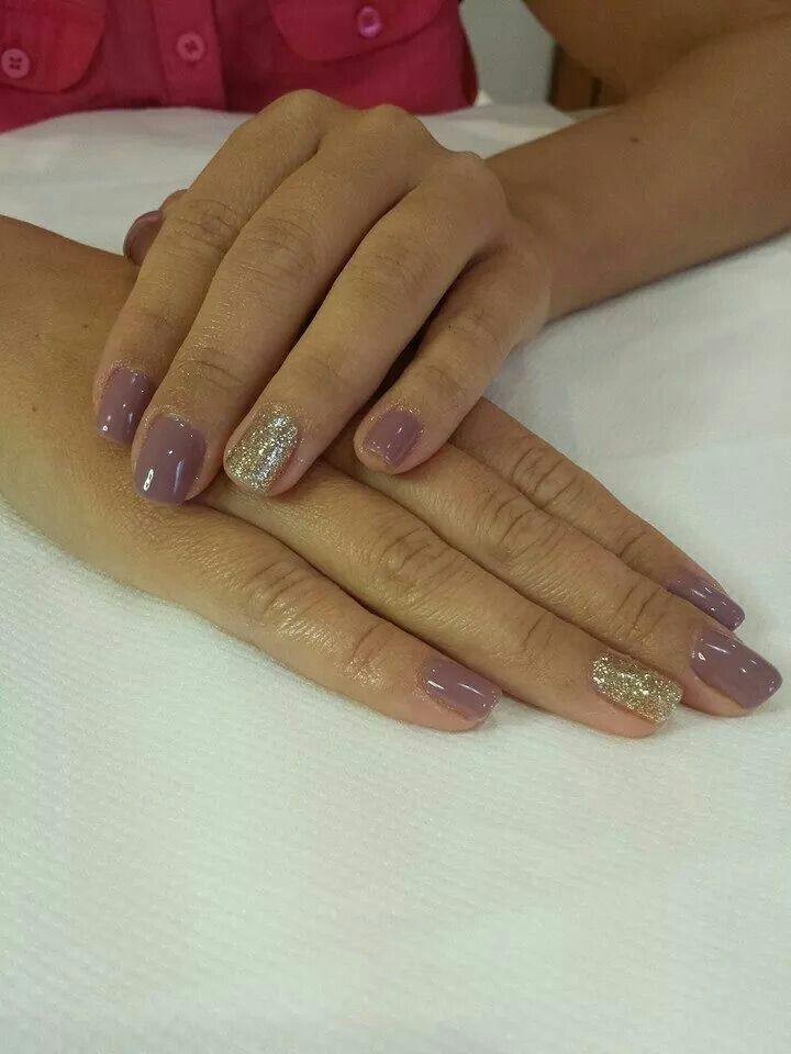 Gelish golden treasure and my nightly craving | Gel/Shellac | Pinterest