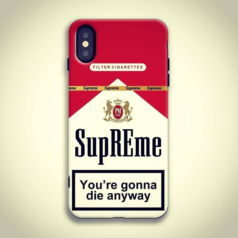 8ed615dfcb6a SUPREMACIST SUPREME X MARLBORO MATTLE TPU BUMPER CASE FOR IPHONE XS MAX XS  XR X 8 8P 7 7P  11off  supreme  antiknock  antiknockcase  shockproof ...
