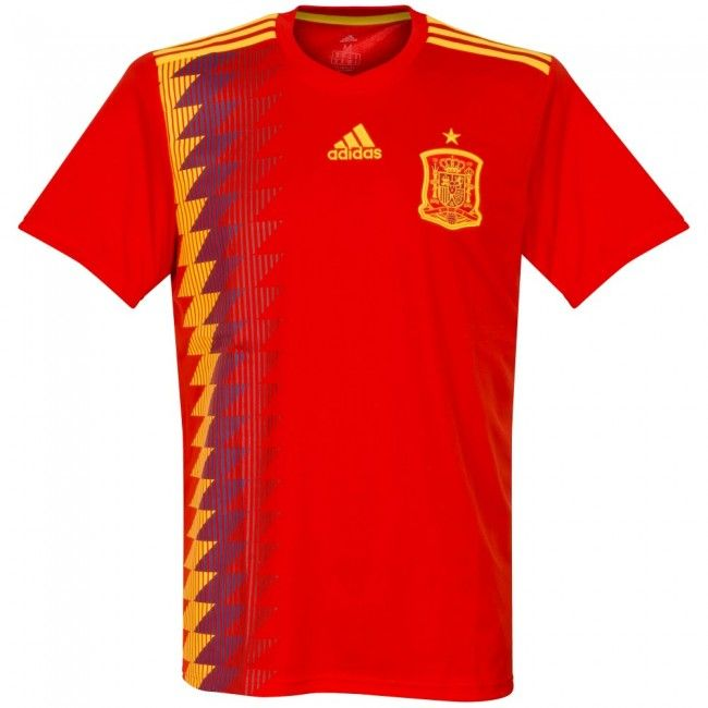 Camiseta de España 2018-2019 Local  shirt  style  football  futbol  spain 1ca7c3f866bbb