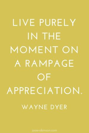 YES! Love this inspiring quote from Wayne Dyer about having an attitude of gratitude. #truth #livinginthelight #givethanks