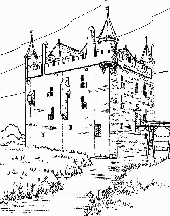 Castles Coloring Page 31 Is A From BookLet Your Children Express Their Imagination When They Color The