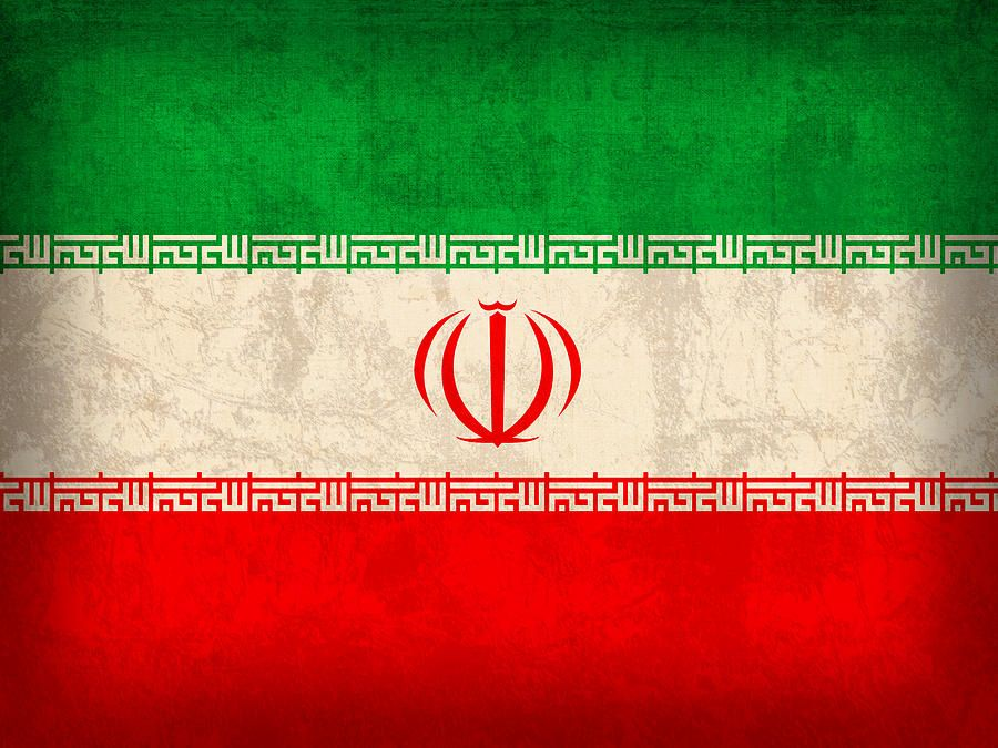 Iran Flag Vintage Distressed Finish By Design Turnpike Iran Flag Flag Art Flags Of The World