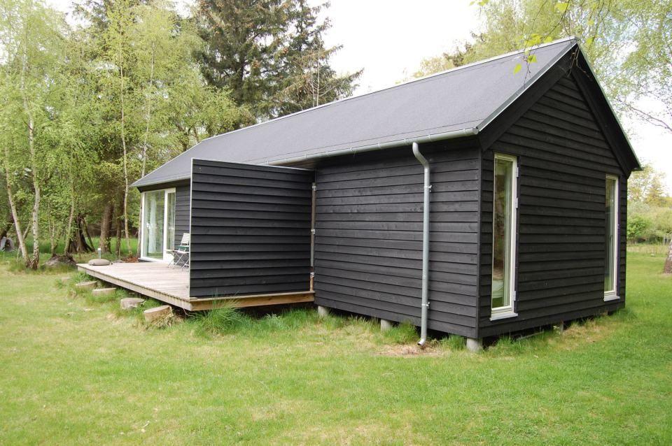 black møn huset længehuset 55, exterior with door to breezeway