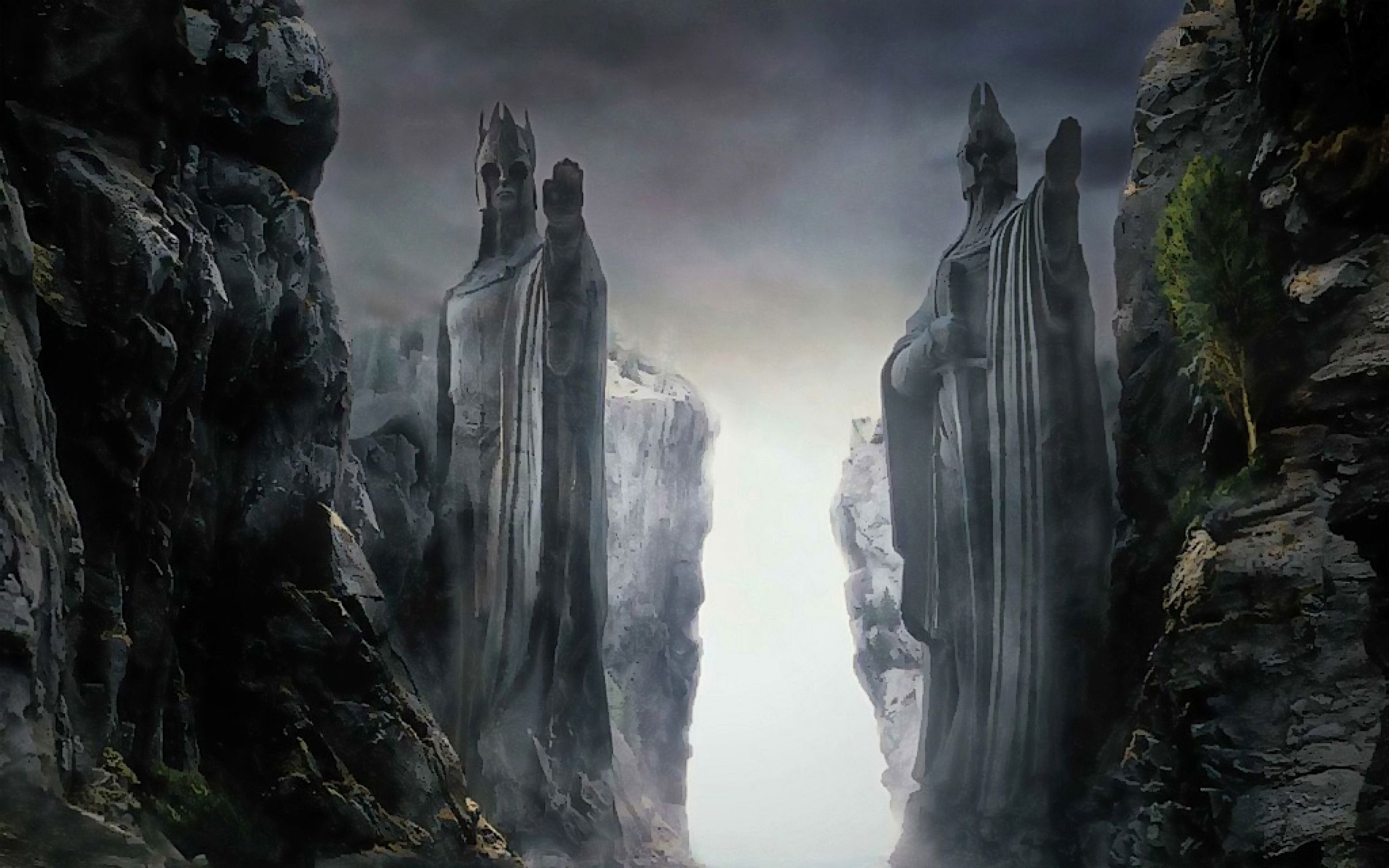The Lord Of The Rings Argonath Statues The Fellowship Of The Ring