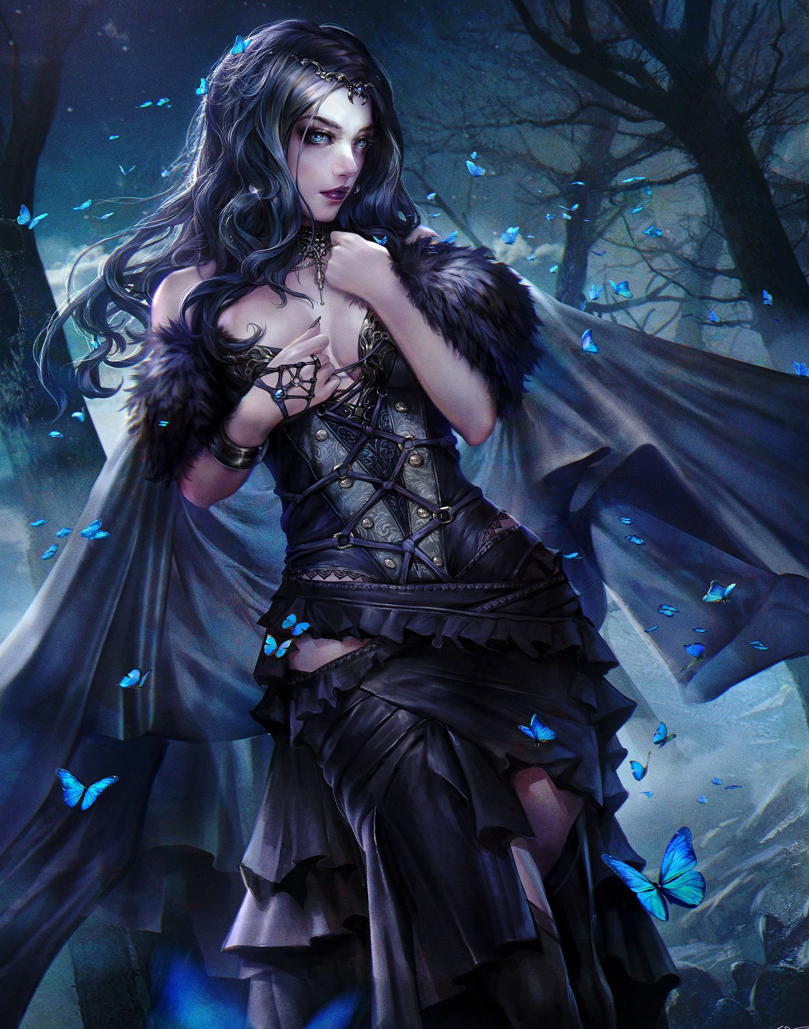 Pin By Seilah On Fantasy Character Dark Fantasy Art