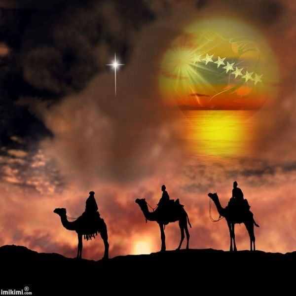 We Three Kings Navidad Arbolesaguinaldas Flores Pinterest