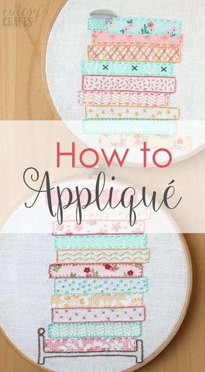 How to Applique By Hand | DIY Sewing Techniques | Pinterest ...
