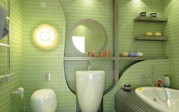 22 Modern Bathroom Ideas Blending Green Color Into Interior Design And Decor Green Bathroom Small Bathroom Remodel Green Bathroom Decor