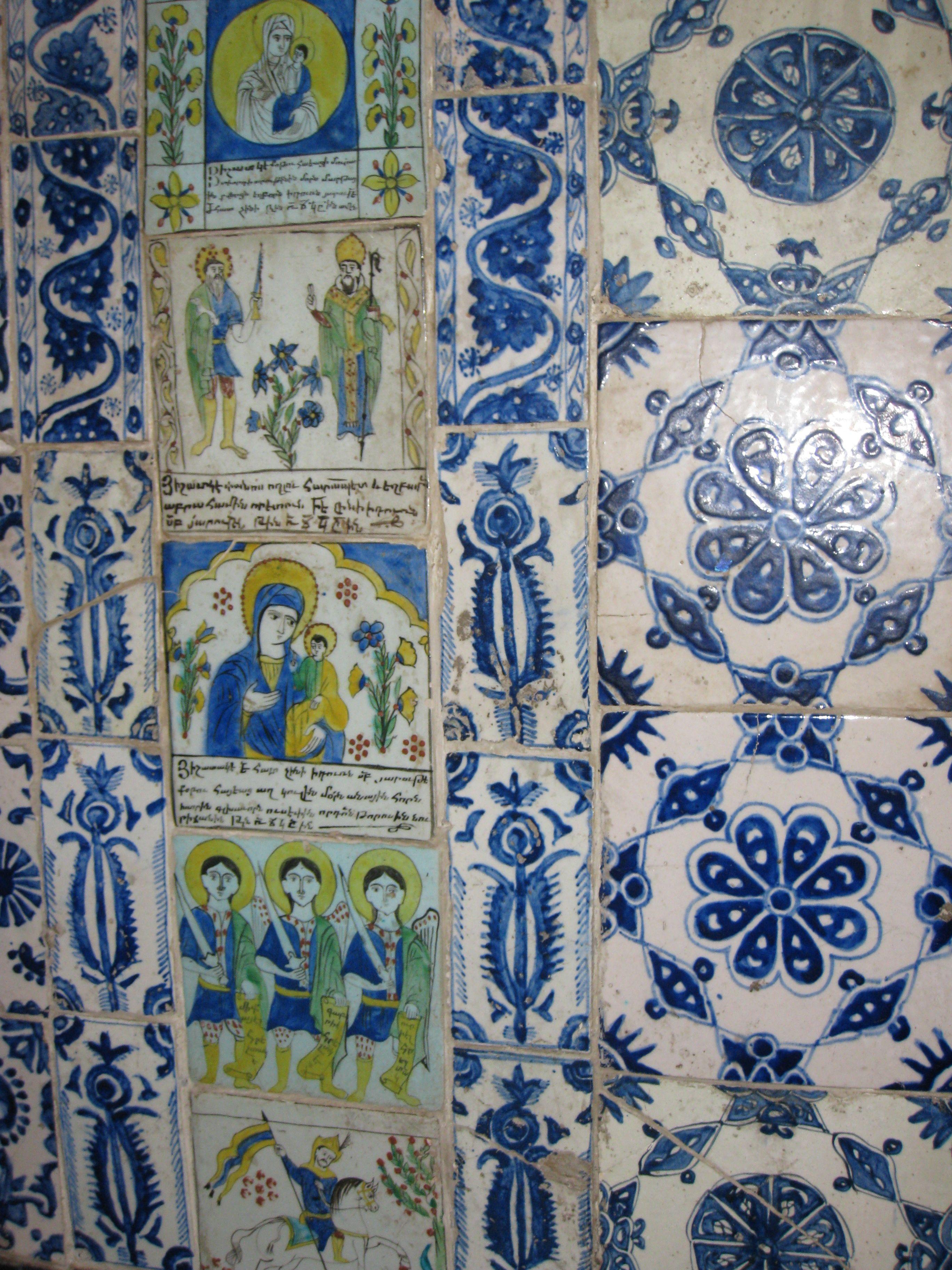 Armenian Tiles St James Cathedral Jerum