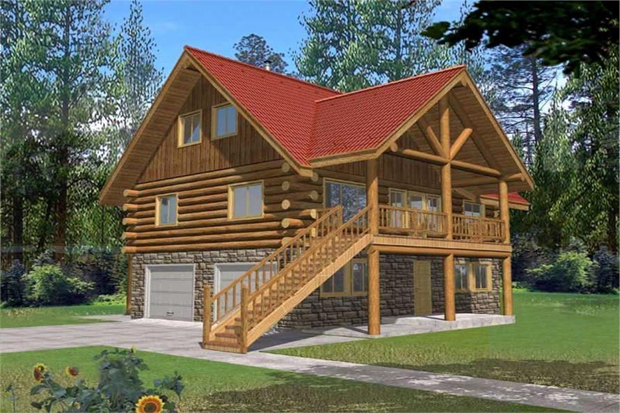 2 Bedroom Log Home Plans Di 2020
