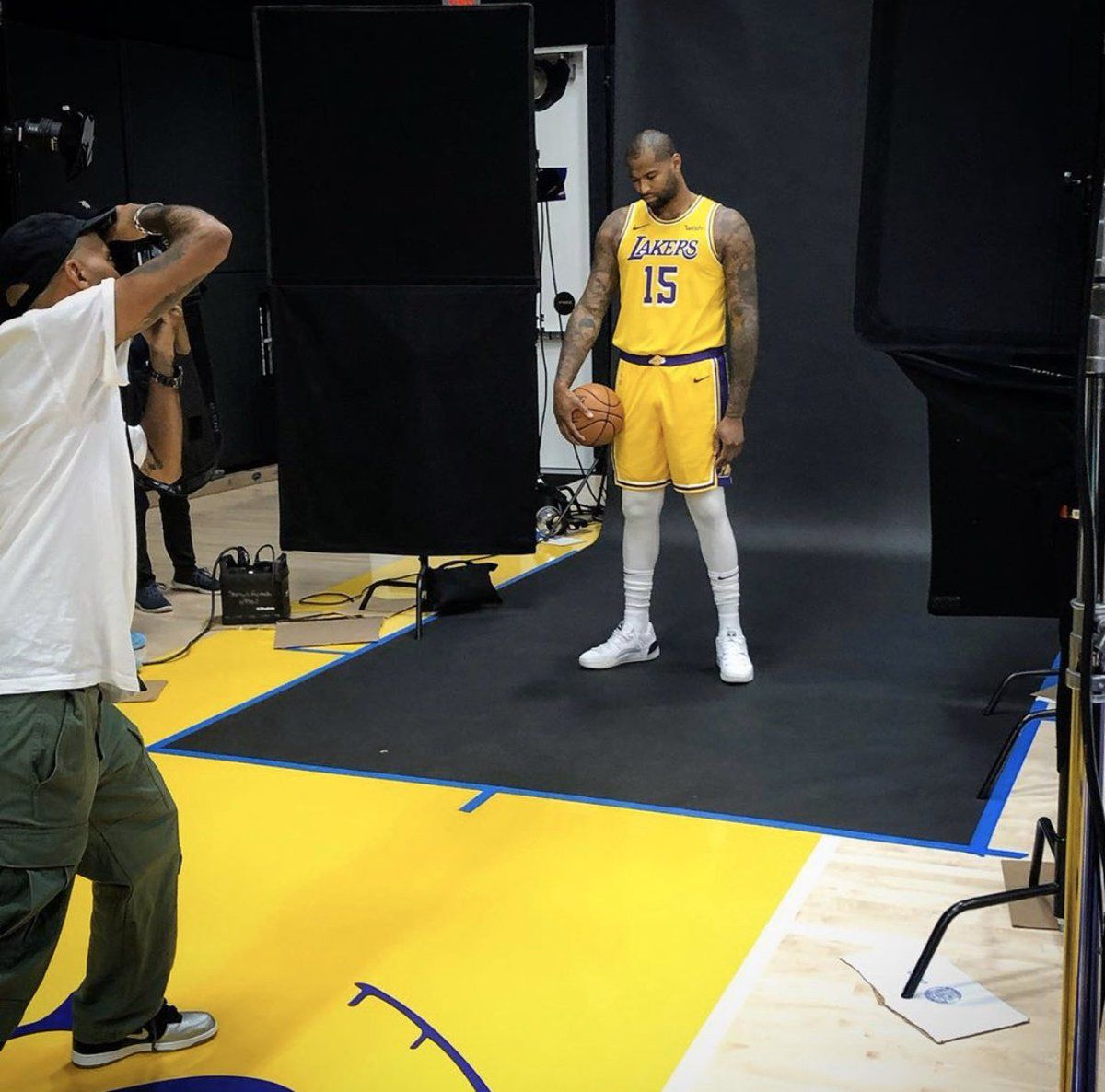 Boogie in His Lakers Uniform Football, basketball, Cbs
