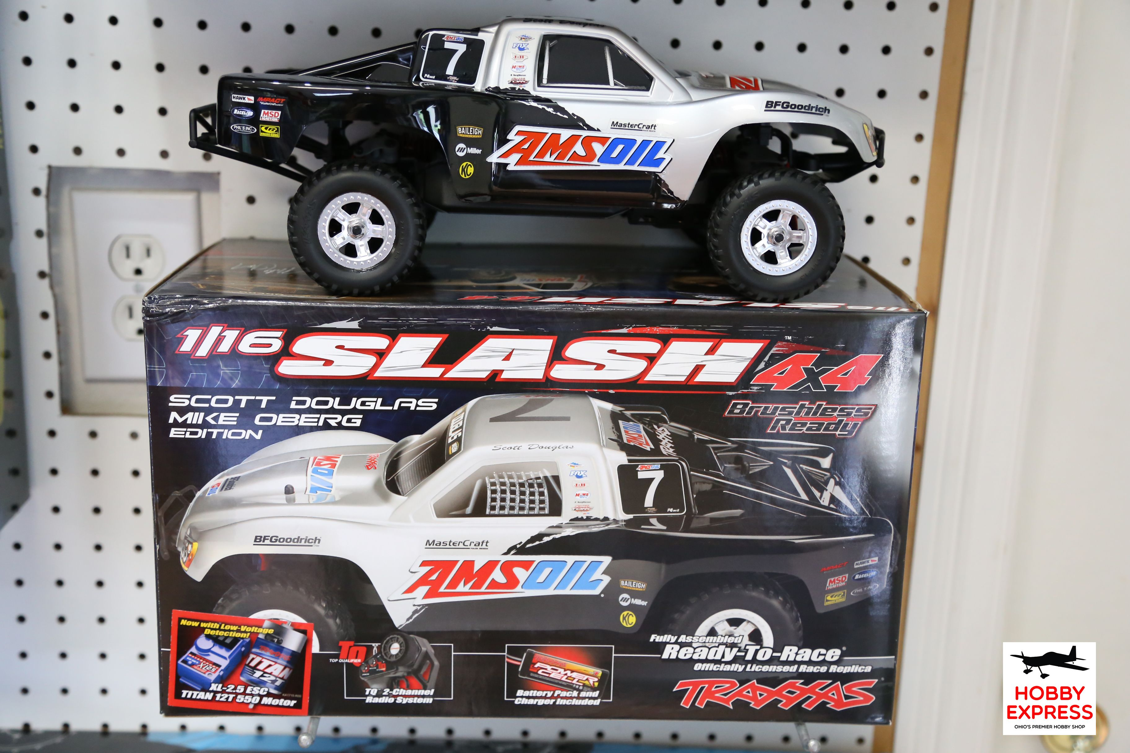 Traxxas Slash 4x4 Scott Douglas Mike Oberg Edition Ready To Race
