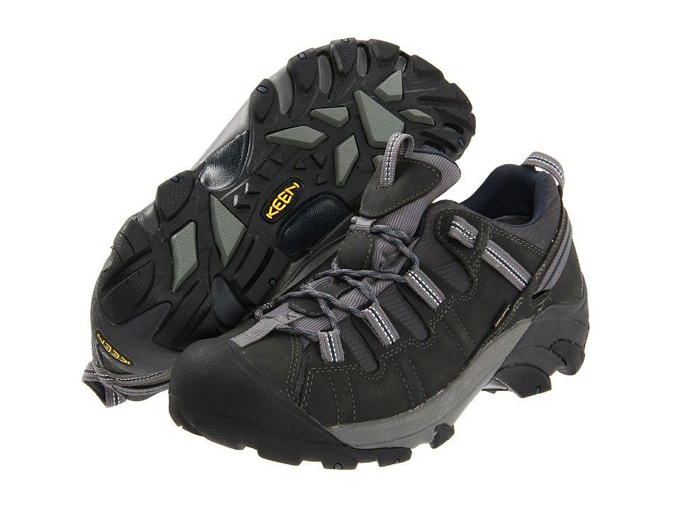 ef48e03301 Keen Targhee II Men's Waterproof Boots Gargoyle/Midnight Navy in ...