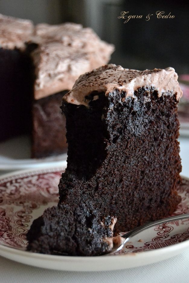 Mud Cake Una Torta traboccante di golosità http://zagaraecedro.blogspot.it/2015/02/mud-cake.html
