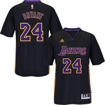 adidas Kobe Bryant Los Angeles Lakers Black Pride Swingman Jersey #lakers # kobe #lalakers