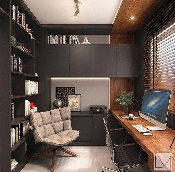 Cuarto de estudio para adultos ideas para decorar y for Idea deco habitacion para adultos zen