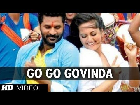 Go Go Govinda Full Video Song Omg Oh My God Sonakshi Sinha Prabhu Deva Youtube Songs Latest Video Songs Bollywood Music Videos