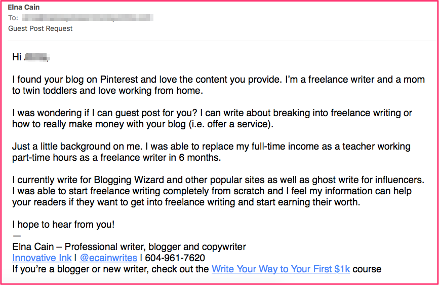 How I Turned a Free Guest Post Into a Paid Freelance Writing