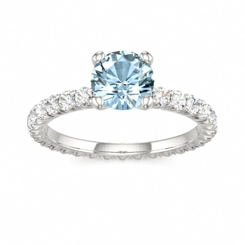 3f00f05bef54f 1/2 Carat (ctw) Princess Cut Diamond Engagement Rings for women and ...