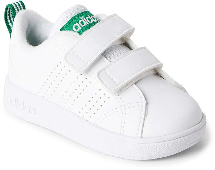 Toddler Girls) White & Green Advantage Clean Sneakers ...