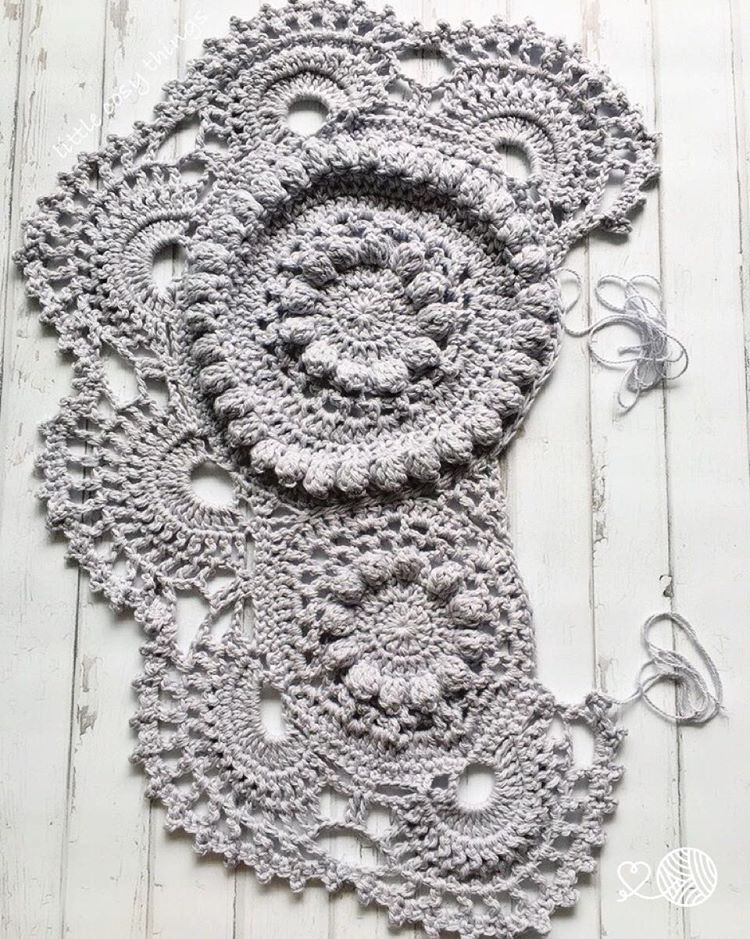 A crochet elephant rug in the making by Little Cosy Things this is ...