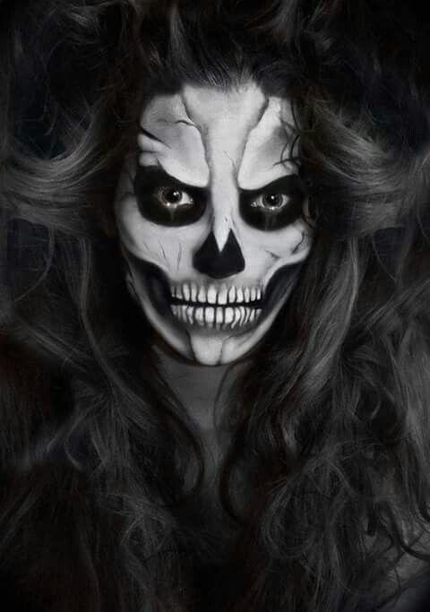 Pin by Manic Heart on ~Living Dead Girl~ Pinterest - halloween horror makeup ideas