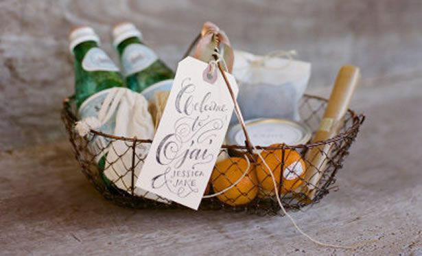 4 Different Welcome Basket Ideas for 4 Common Wedding Venues ...