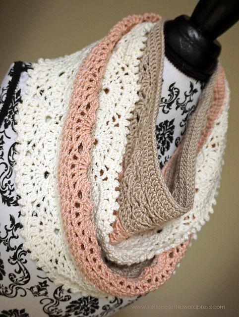 Ravelry: Shin-yu Infinity Scarf pattern by ChiChi Allen | Crochet ...