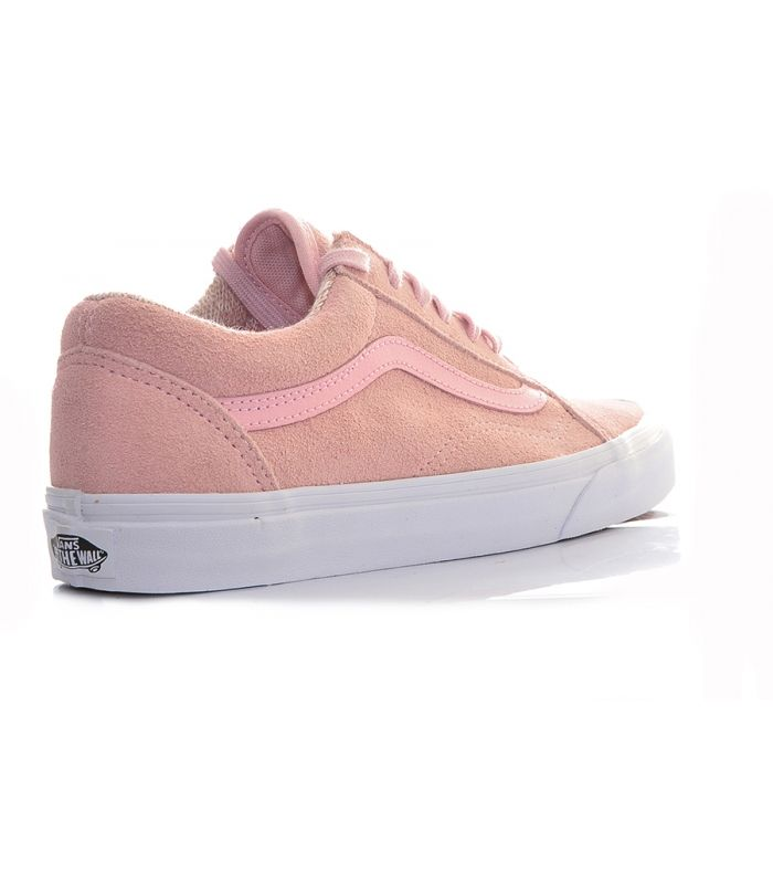 vans rosa beige