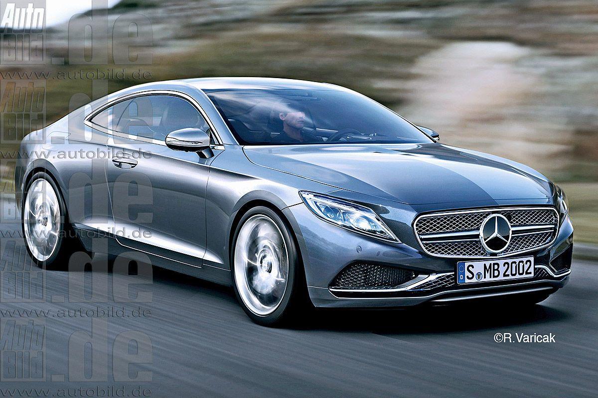 Mercedes e klasse coupe next gen render