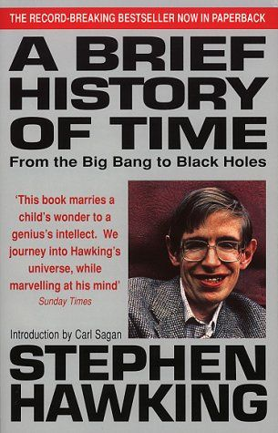 A Brief History Of Time Stephen Hawking Holes Book