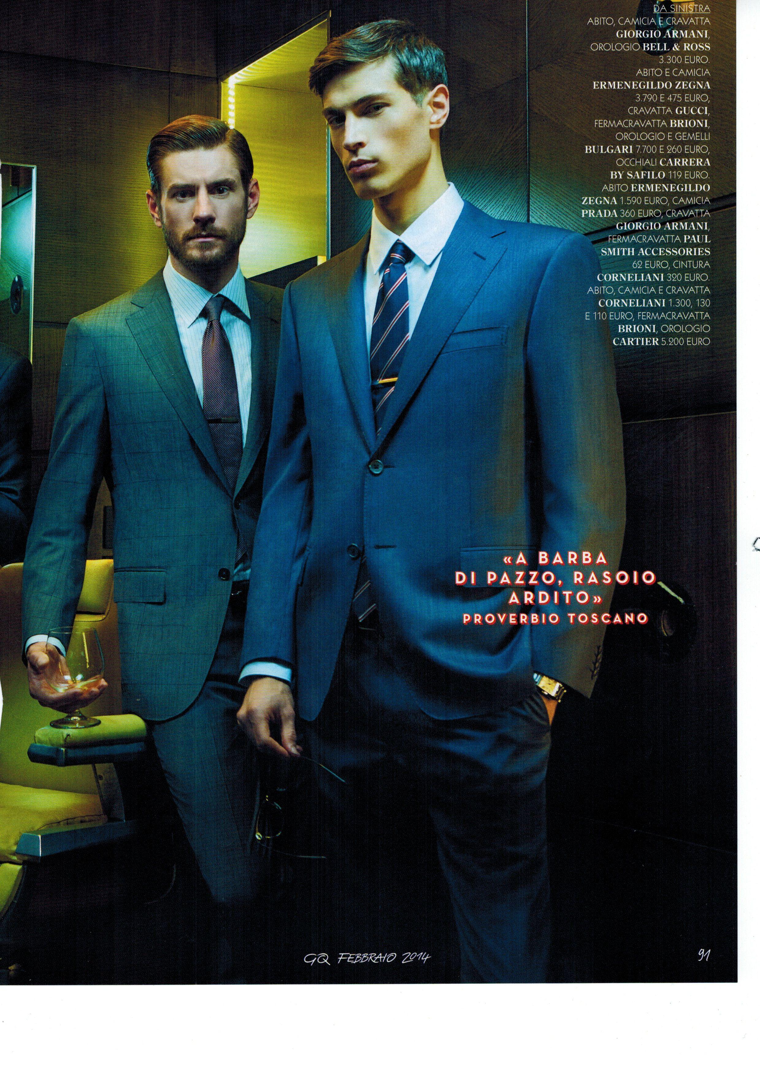 Leonardo DiCaprio Covers GQ Italias April 2013 Issue in
