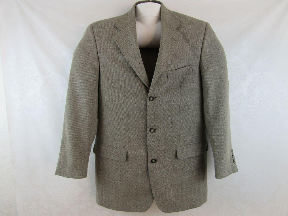 Men's Vintage Vito Rufolo Bozzalla & Lesna Blazer Sport Coat Size ...