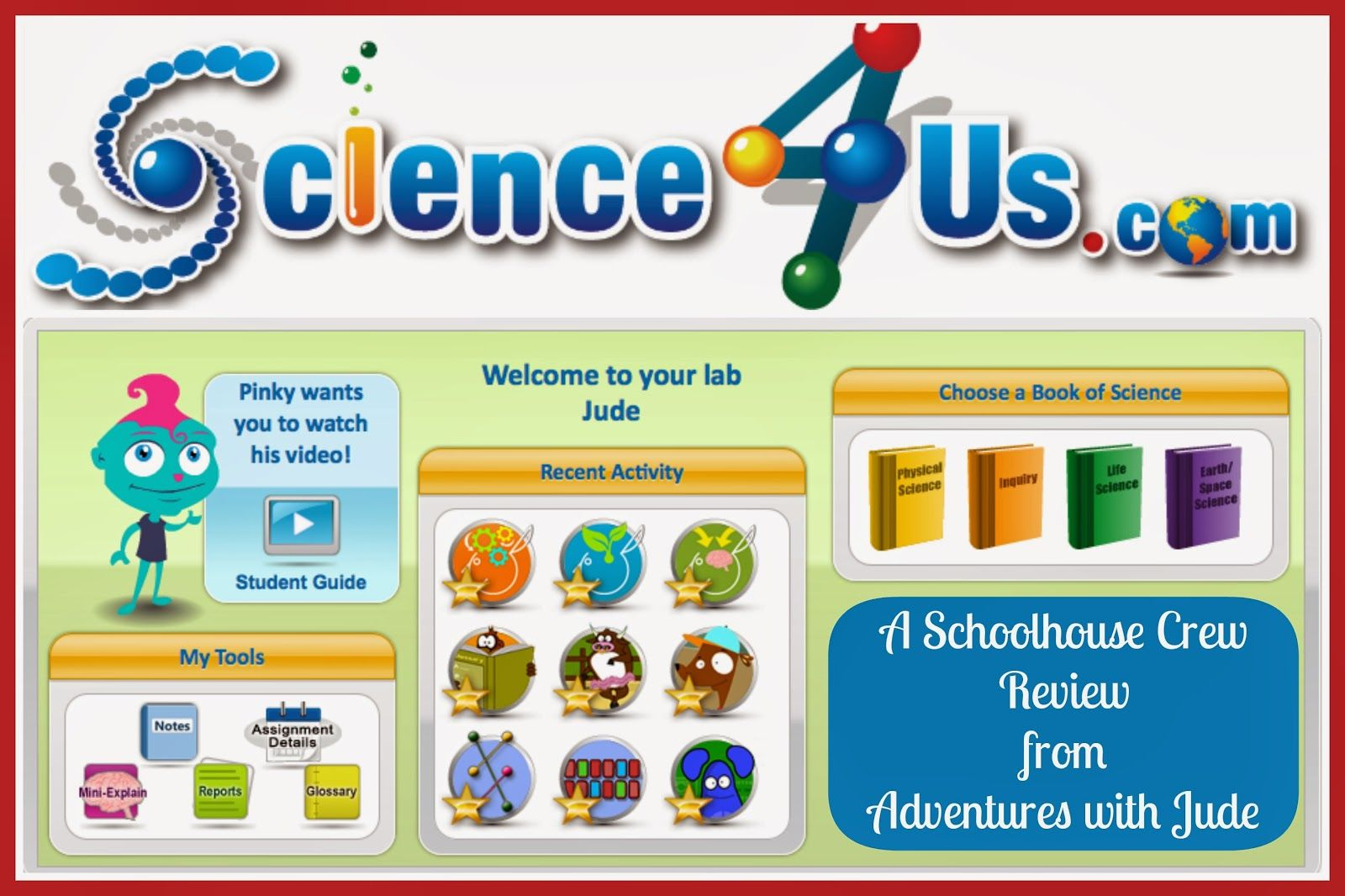 Science 4 Us Online Subscription A Schoolhouse Crew