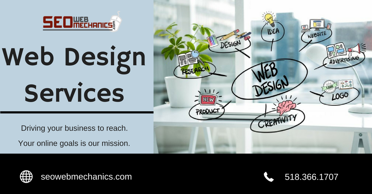 SEO Web mechanics design and develop responsive and search