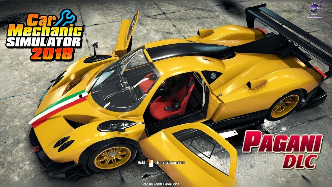 Car Mechanic Simulator 2018 - Pagani DLC Pagani DLC includes two