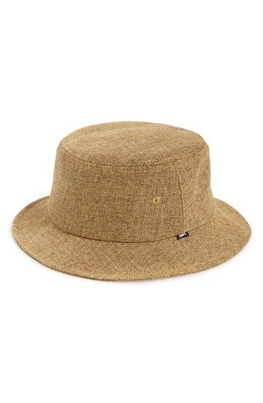 18d161235 Men's Obey 'Bolinas' Straw Bucket Hat - Beige   my style   Hats ...
