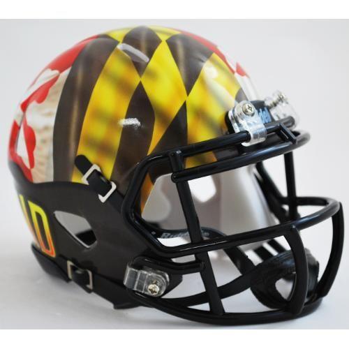 06ec32d1 Maryland Terrapins Pride Alternate Riddell Speed Mini Helmet ...